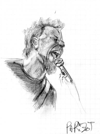 James Hetfield by famchmiz